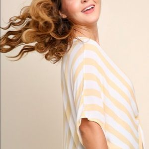 Umgee Plus Size Striped Top